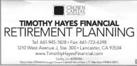 Timothy Hayes Financial